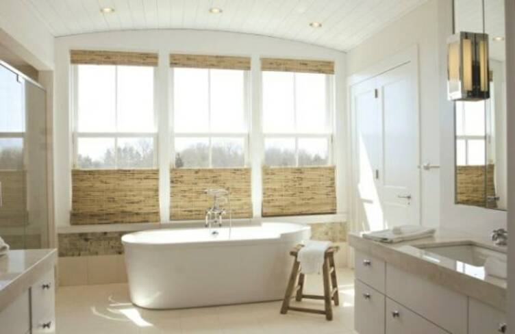 bamboo shades brooklyn nyc queens - Best Blinds For Bathroom