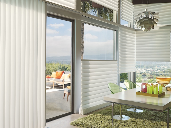 Sliding Glass Door Window Treatments By Hunter Douglas